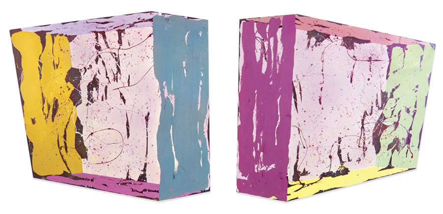 Double Pink Slabs, 1969