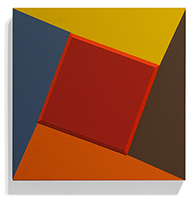 Red Bevel Square, 2009