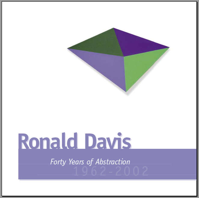 Ronald Davis: Forty Years of Abstraction.pdf