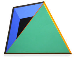 Green Triangle Overlay, 2002
